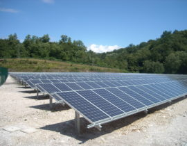 Impianto fotovoltaico a Tarcento UD