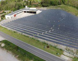 Photovoltaic plant in Tarcento UD