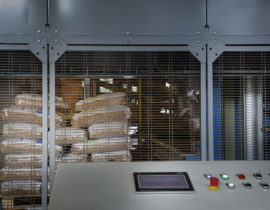 Pellets production department at Bordiga