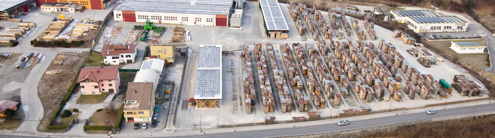 Aerial photo of Bordiga