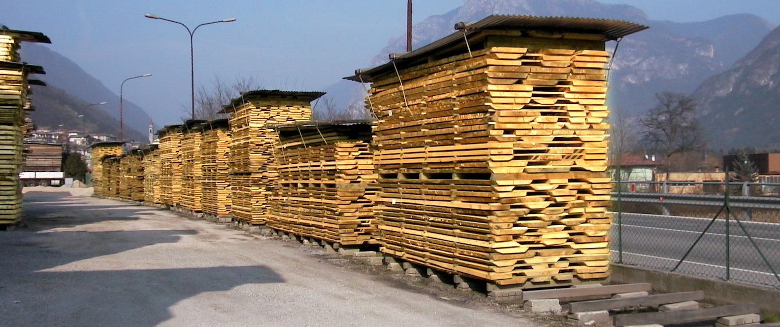 Essiccazione del legname