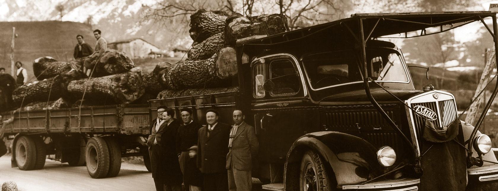 Foto storica Bordiga Legnami