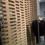 Separè in legno massiccio